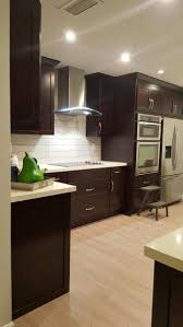 dark and light kitchen cabinets backsplash ideas for dark cabinets and dark countertops kitchen