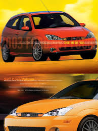 svt focus brochure manual transmission cylinder engine