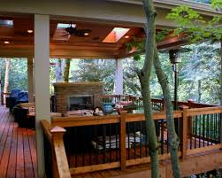 fantastic covered deck wooden deck flooring in traditional touch