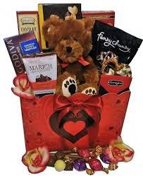 chocolate basket teddy chocolate basket