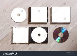 Compact Design Full Set Compact Disc Template Plastic Stock Photo 432457177