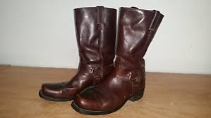 s brown boots canada s brown leather boulet harness motorcycle biker boots