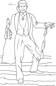 dracula coloring pages halloween vampire coloring pages for kids