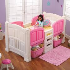 step2 u0027s loft and storage twin bed toys