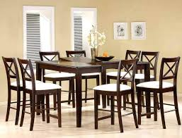 chocolate dining room table chocolate dining room set 5 piece round counter height dining table