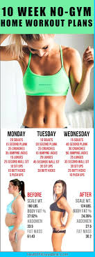 home work out plans 10 week no gym home workout plans healthnme