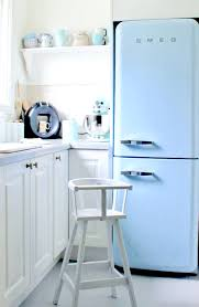 fridge retro decor kitchen appliance interior design