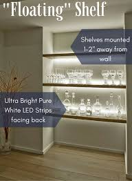Free Floating Shelves by Get This Look The