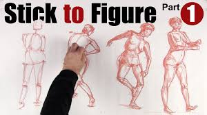 stick to figure drawing the human form part 1 youtube