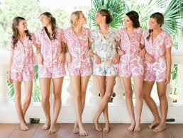 bridesmaid pajama sets something for the gifts your bridesmaids will