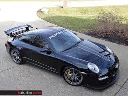 black porsche 911 gt3 matte black on black porsche gt3 ki studios