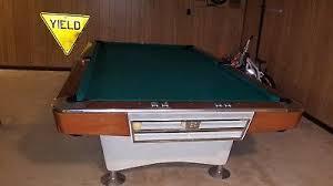 brunswick brighton pool table 1962 brunswick goldcrown pool table billiard table restored 9 ft