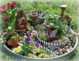 tiny flower pot fairy garden plants pinterest fairies