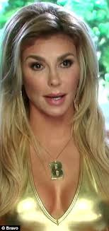 brandi house wives of beverly hills short hair cut brandi glanville blames bad make up for changing appearance