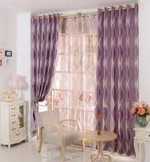 Purple Curtains For Living Room Simple Modern Curtain Long Decor Foe Modern Livingroom With Wooden