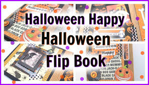 printable halloween book halloween happy halloween flip book youtube
