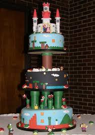 mario cakes mario bros birthday and wedding cakes cakes and cupcakes