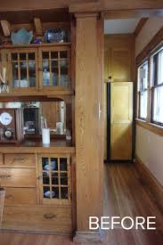 creating a new craftsman kitchen for an old house in minneapolis sicora design craftsman kitchen project before