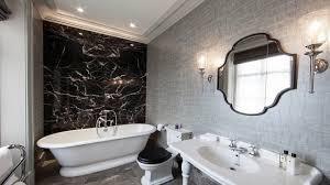 black white and silver bathroom ideas bathroom ideas 10 black white bathrooms home design ideas with sizing 1280 x 720