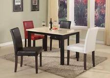 Faux Marble Top Dining Table Marble Top Dining Table Ebay