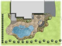 Pool Landscape Design by Landscape Lighting Archive Landscaping Company Nj U0026 Pa Custom