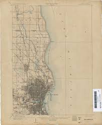 Map Of Milwaukee Wisconsin by