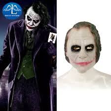 joker costumes batman dark knight deluxe joker clown mask