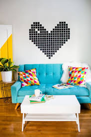 199 best easy stripe it like it s haute images on pinterest make a removeable wall design with squares of easy stripe roomfakeovers
