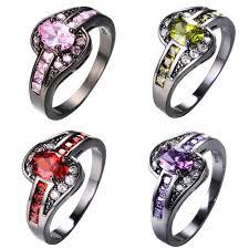 Geode Engagement Ring Box Online Get Cheap Amethyst Engagement Ring Aliexpress Com