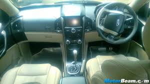Xuv 500 Interior Mahindra Xuv500 Automatic Launched Priced From Rs 15 53 Lakhs