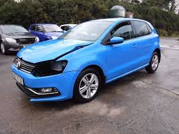 volkswagen hatchback 2016 2016 vw polo 1 0 match 5 door damaged repairable in