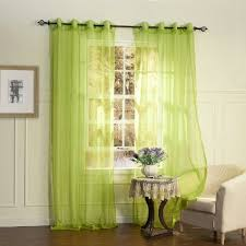 Green Sheer Curtains Catchy Sheer Green Curtains And Buy Lightinthebox One Panel