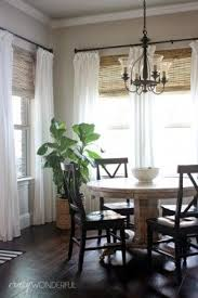 How To Hang Curtains On A Round Top Window Best 25 Picture Window Treatments Ideas On Pinterest Picture