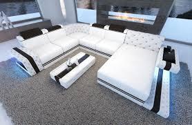 sofa mit beleuchtung ledersofa imperial bei nativo möbel oesterreich