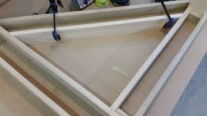 bay window desk stl custom woodworking