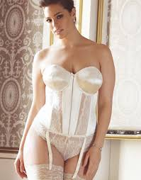 Where To Buy Wedding Lingerie Stretchy Lace And Smooth Soft Satin Basque Available To Order At