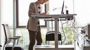 Standing To Sitting Desk Health Benefit Of Standing Desks Not Proven Review Shows