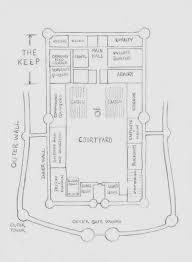 medieval castle floor plans larger castle floor plan