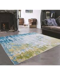 Gray And Yellow Rugs Blue Yellow Rug Rugs Decoration