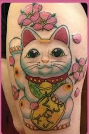 tattoo cat neko lucky cat tattoo google search neat stuff pinterest lucky
