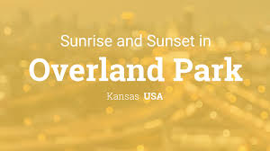 Overland Park Ks Zip Code Map by Sunrise And Sunset Times In Overland Park
