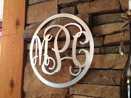 Sparkle Wall Decor Wrought Iron Monogram Wall Decor U2014 Unique Hardscape Design 5