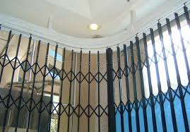 new so8 curved trellis doors provide closure for difficult