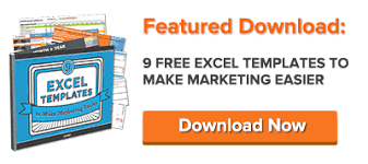 Excel Reporting Templates 9 Free Microsoft Excel Templates To Marketing Easier