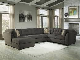 living room couch with chaise as ideal furniture exist decor