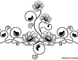 lovely roses and vine tattoos on leg photos pictures and