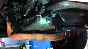 jeep cherokee transmission mount replacement youtube