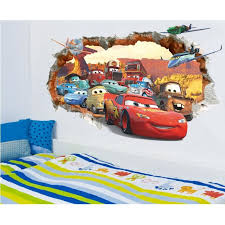 chambre cars pas cher chambre chambre backdrop stickers cars 3d poqiang enfants achat