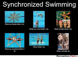 Synchronized Swimming Meme - frabz synchronized swimming what my friends think i do what my mom