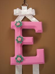 hair bow holders personalized hair bow holder pink with rope flower accents on luulla